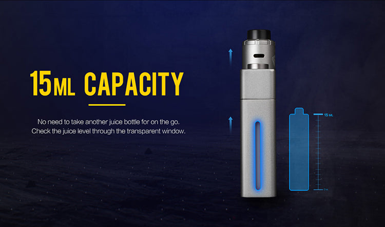 Uwell Blocks Squonk 90W Kit with Nunchaku RDA 15ml Capacity
