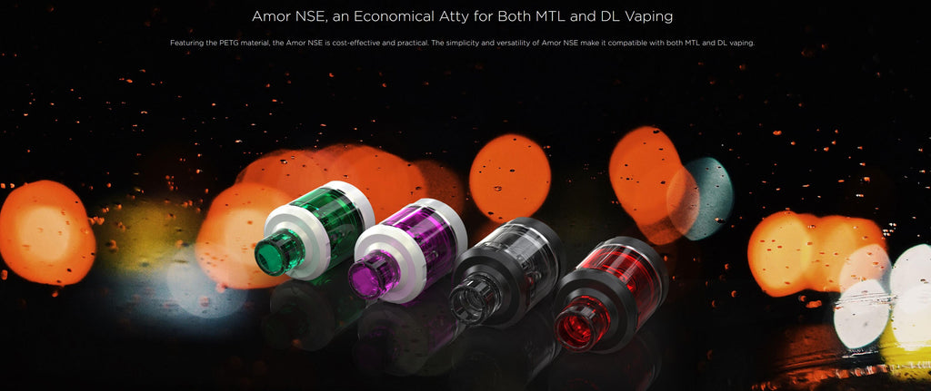 WISMEC Amor NSE Atomizer 4 Colors Available