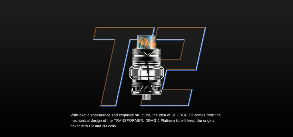 VOOPOO Drag 2 UFORCE T2 Tank Description