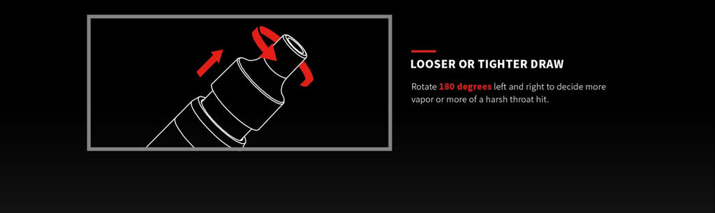 Acrohm Fush Nano Vape Pod System Starter Kit - Looser Or Tighter Draw