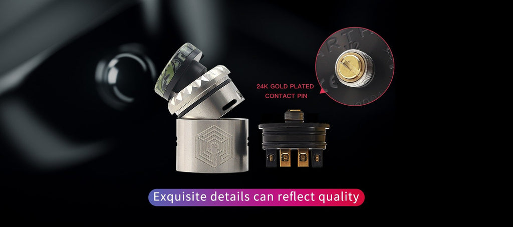 Advken Artha V2 RDA 24mm Design