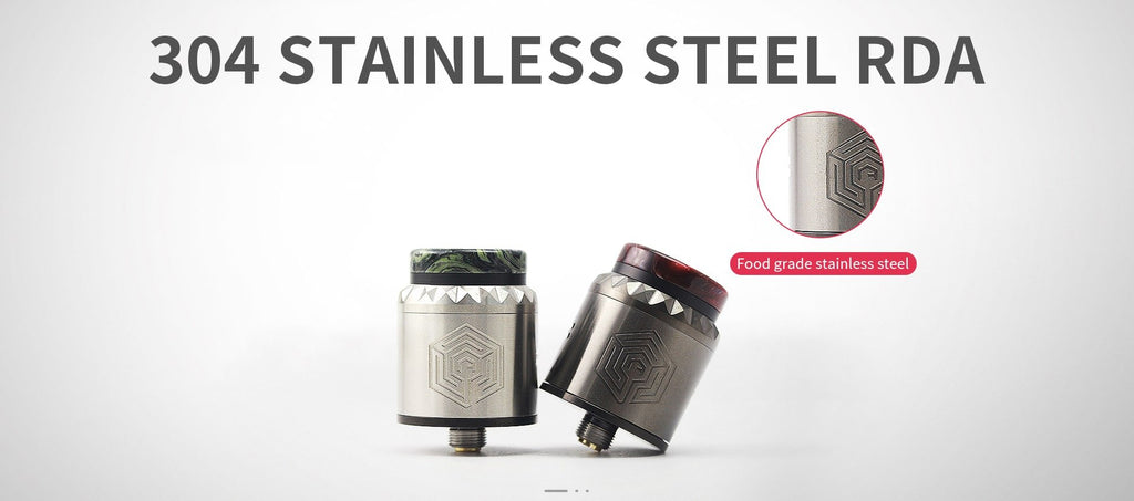 Advken Artha V2 RDA 24mm 304 Stainess Steel