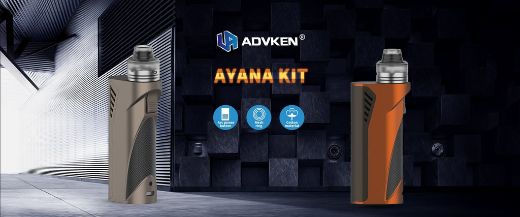 Advken Ayana Single 18650 / 20700 / 21700 Mechanical Kit
