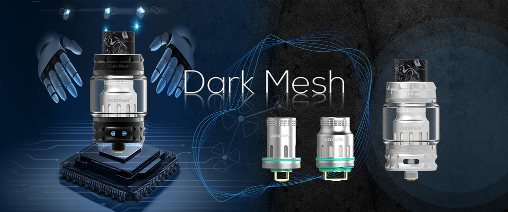Advken Dark Mesh Tank 6ml 25mm