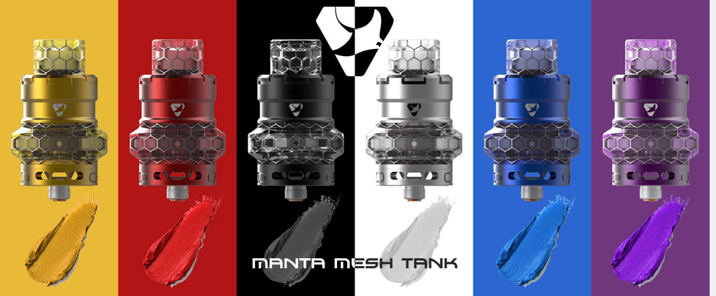 Advken Manta Mesh Tank 4.5ml 24mm 7 Colors Available