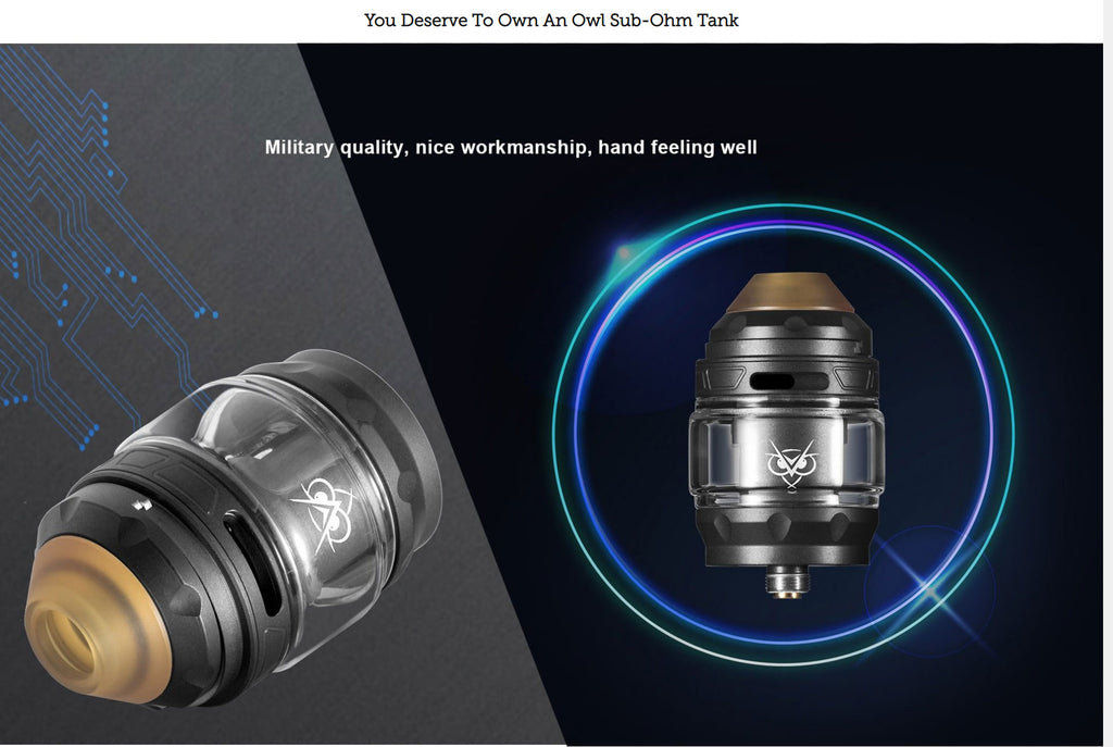 You Deserve To Own An Owl Sub-ohm Tank