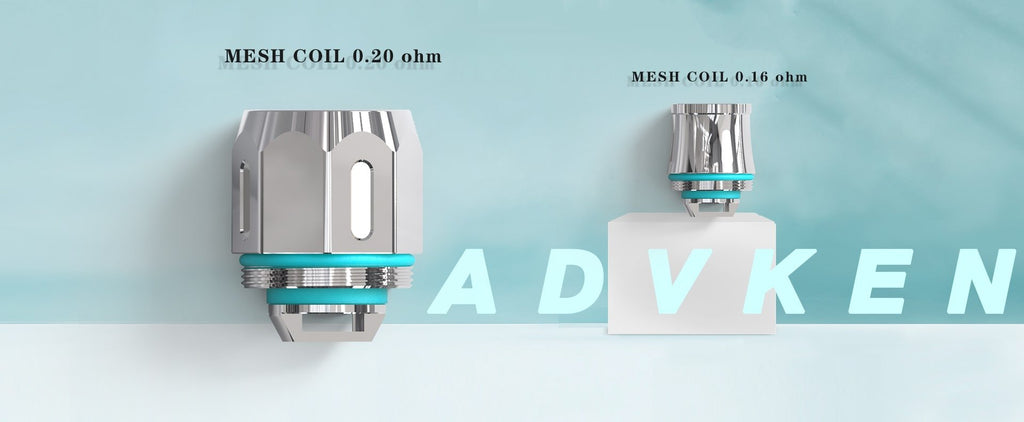 Advken Replacement 0.16ohm / 0.2ohm Mesh Coil Head