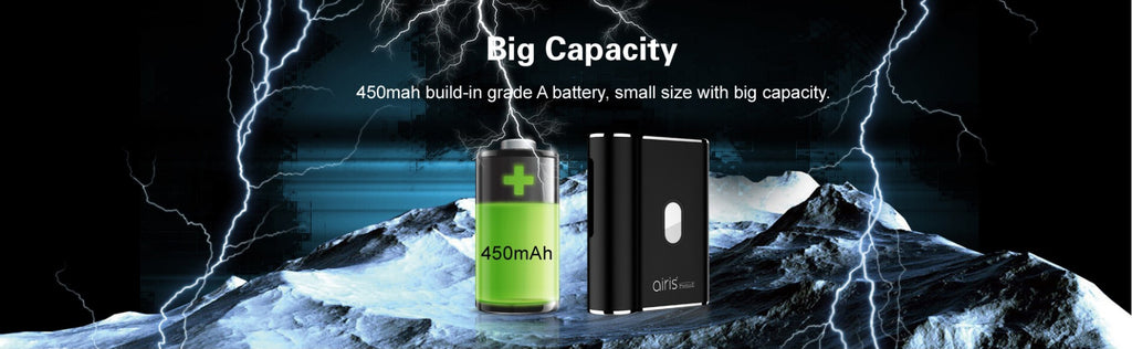 Airistech Airis Qute Wax Vaporizer Battery