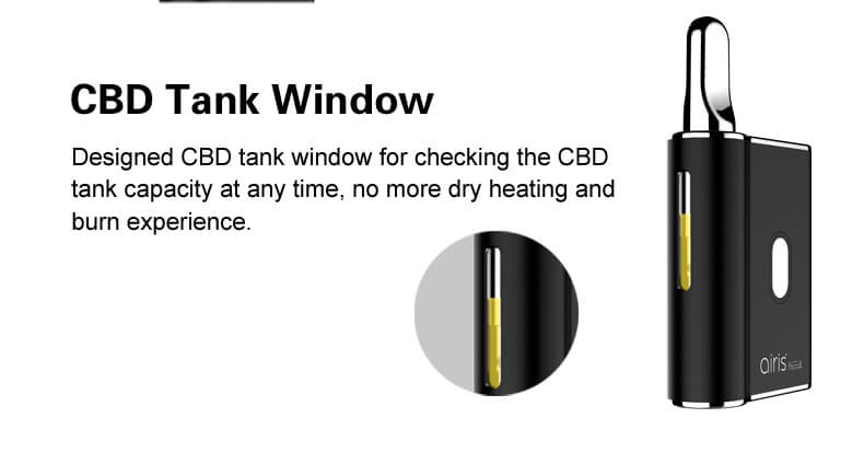 CBD Tank Window