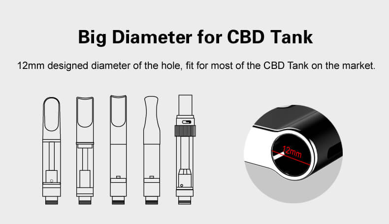 big diameter for cbd tank
