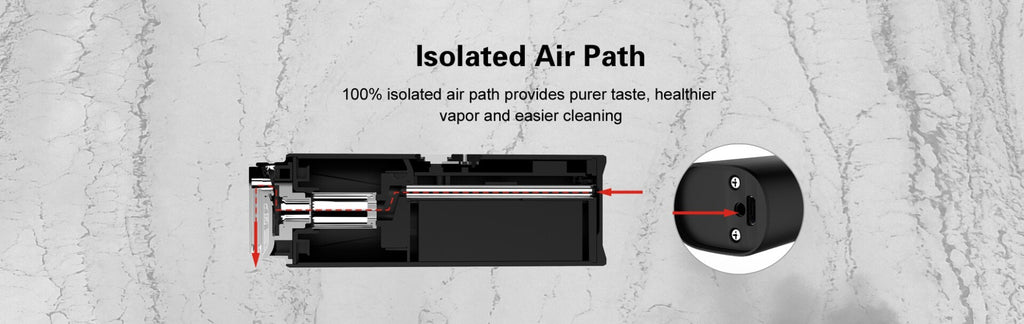Airistech Switch Vapor ari path