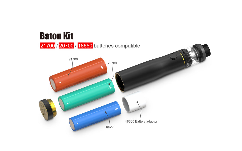 Artery Baton Semi-mechanical Mod Kit battery