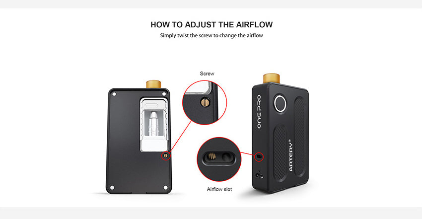 Artery PAL ONE PRO Vape Pod System Adjustble Airflow