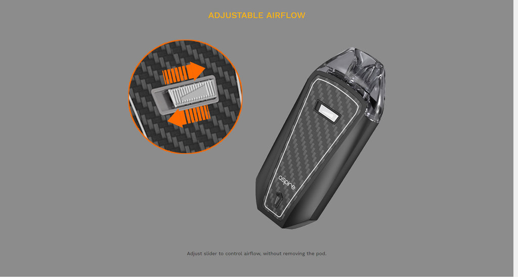 Aspire AVP Pro Pod System VW Starter Kit 1200mAh 4ml Adjustable Airflow