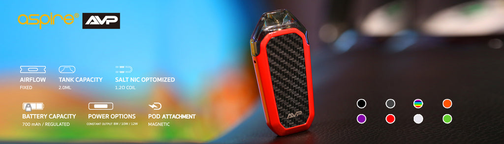 Aspire AVP Vape Pod System 700mAh 2ml Chinese Version