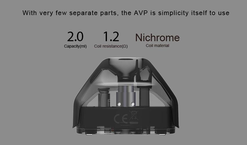 Aspire AVP Vape Pod System Chinese Version