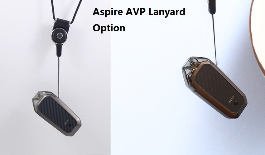 Aspire AVP Vape Pod System Chinese Version Real shots