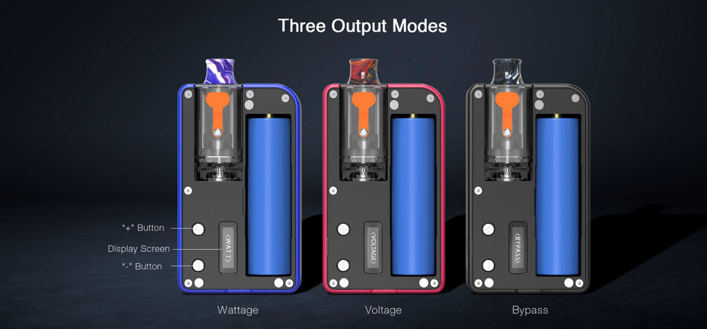 Aspire Mulus Pod System VW Starter Kit 80W 4.2ml Three Output Modes