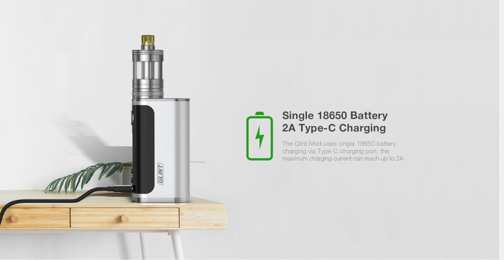 Aspire Nautilus GT 75W VW Mod Kit Battery