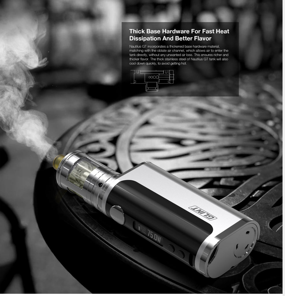 Aspire Nautilus GT 75W VW Mod Kit Technology