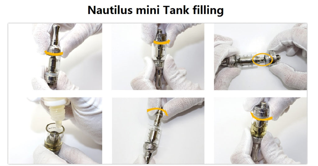 Aspire Nautilus Mini BVC Tank Filling