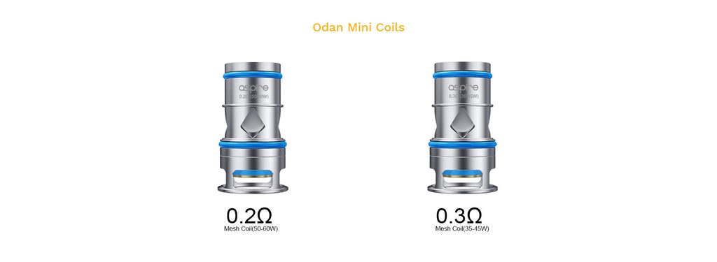 Aspire Odan Mini Tank 2 Coils