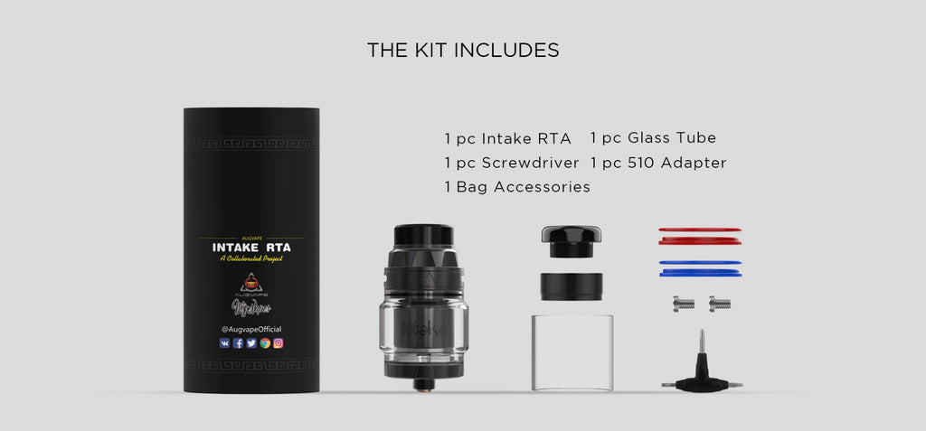 Augvape Intake RTA Package Contents