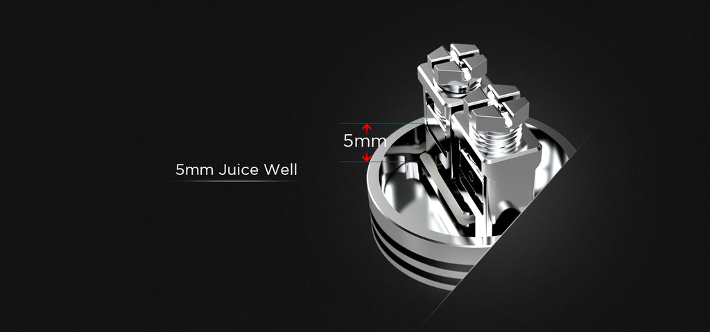 Augvape Occula RDA 5mm Juice Well
