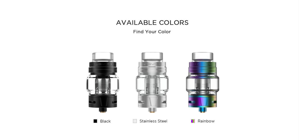 3 Augvape Skynet Sub Ohm Tank Colors Avalable