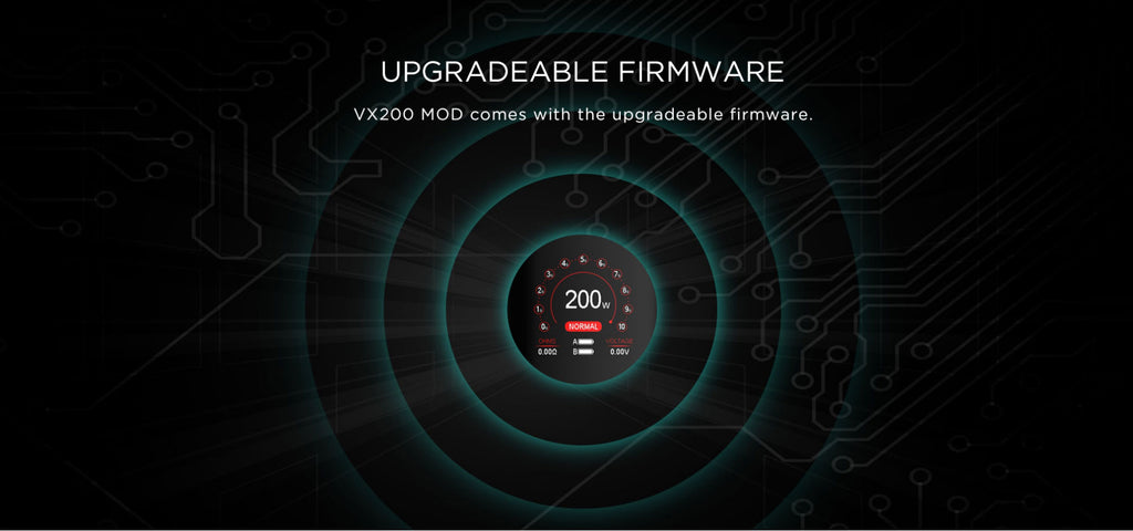 Augvape VX200 TC Box Mod Upgradeble Firmware