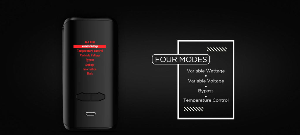 Augvape VX200 TC Box Mod Four Modes