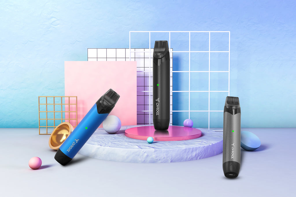 DIROCK KK Mini Vape Pod System 650mAh 2ml Real Shots