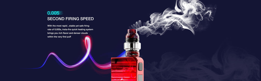 CoilART LUX TC Mod Kit with LUX Mesh Tank Firing Speed