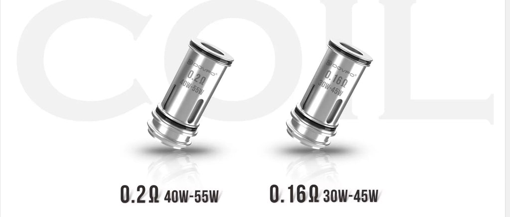 Dovpo The Ohmage Sub-ohm Tank 5.5ml 26.5mm 2 Coil Head Optional