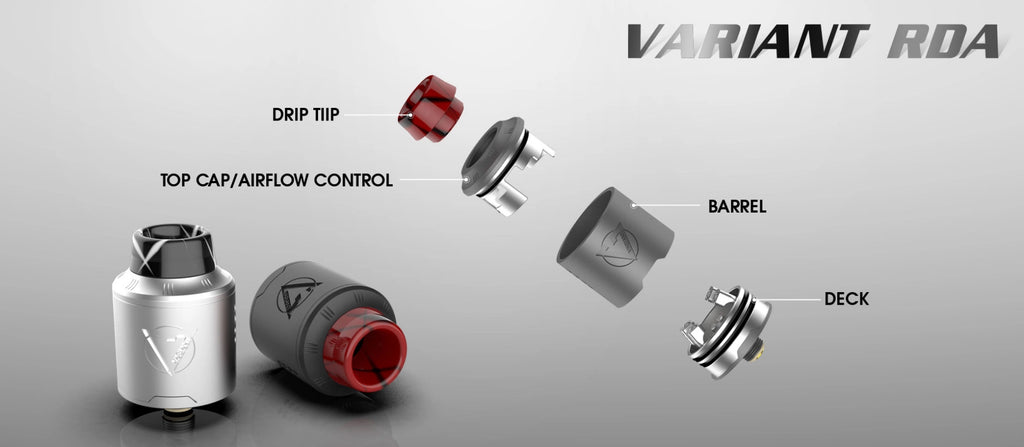 Dovpo Variant RDA 90W 10ml Components