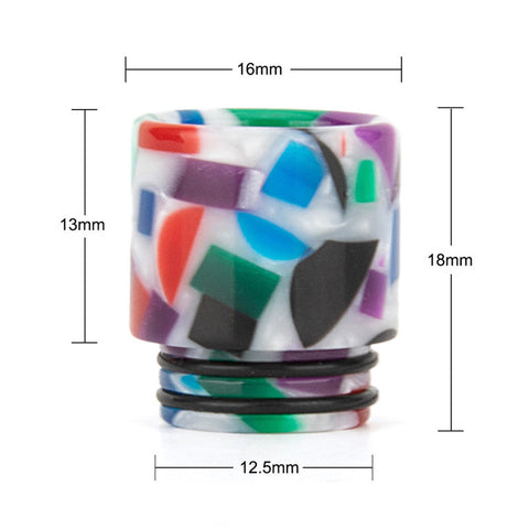 REEVAPE AS116D 810 Resin Replacement Drip Tip Size