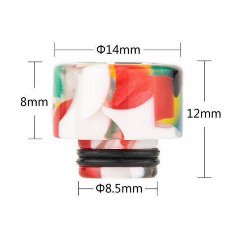 REEVAPE AS138D 510 Resin Replacement Drip Tip Size