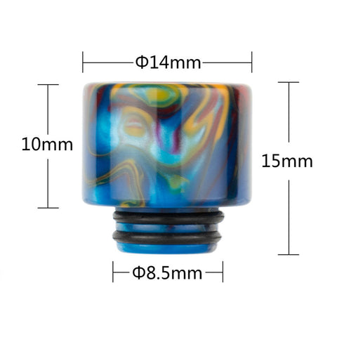 REEVAPE AS239 Universal 510 Resin Replacement Drip Tip Size