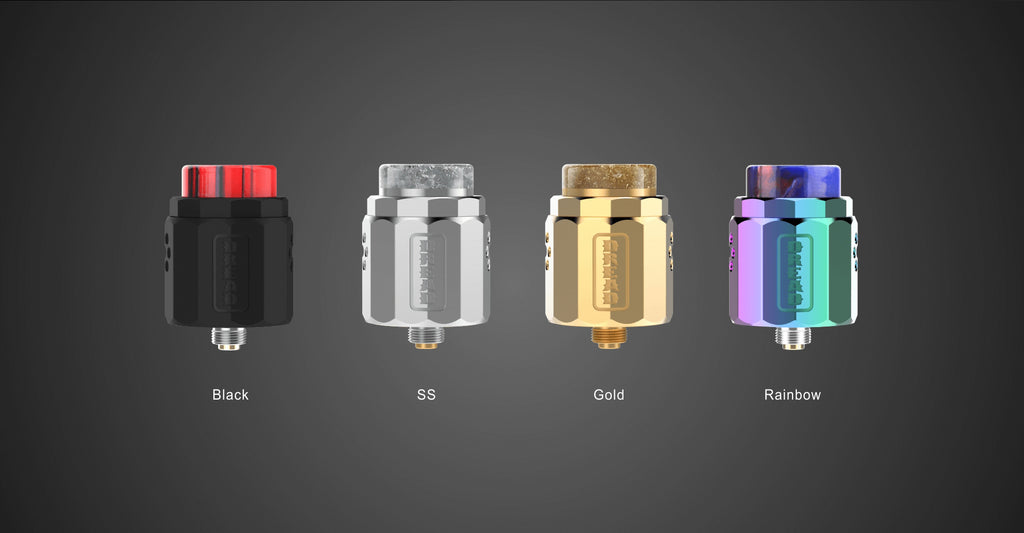 4-Color DamnVape Dread BF RDA