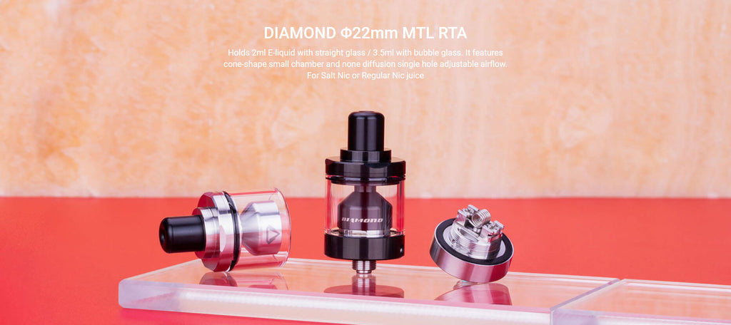 Damn Vape Diamond MTL RTA 22mm