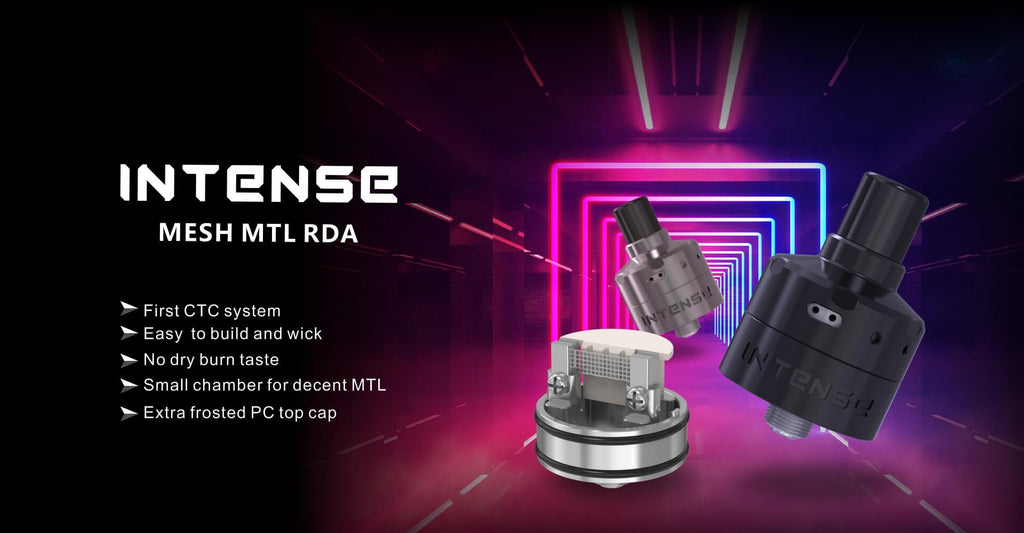 Damn Vape Intense Mesh MTL RDA 24mm Features