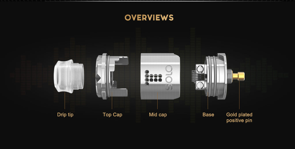 Digiflavor Drop Solo RDA Overviews