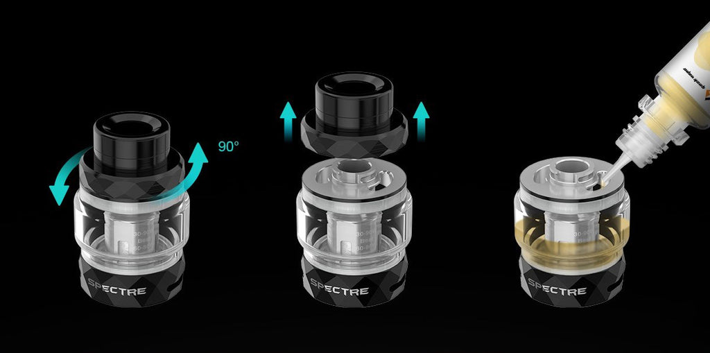 Digiflavor Edge TC Mod Kit Filling Design