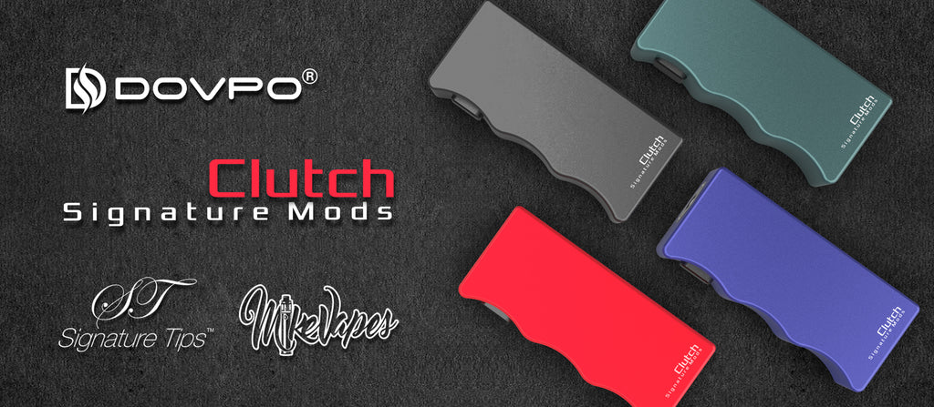 Dovpo x Signature Tips x Mike Vapes Clutch 21700 Mech Mod