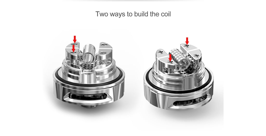Two ways to build the coil Ehpro Kelpie RTA 2ml Details