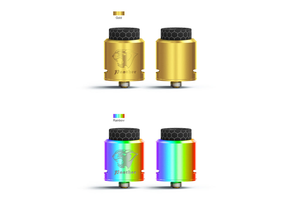 Ehpro Panther RDA Gold & Rainbow