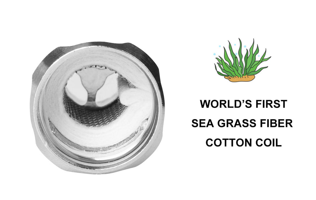 Ehpro Raptor Tank 6ml 25mm SEA Grass Fiber Cotton Coil