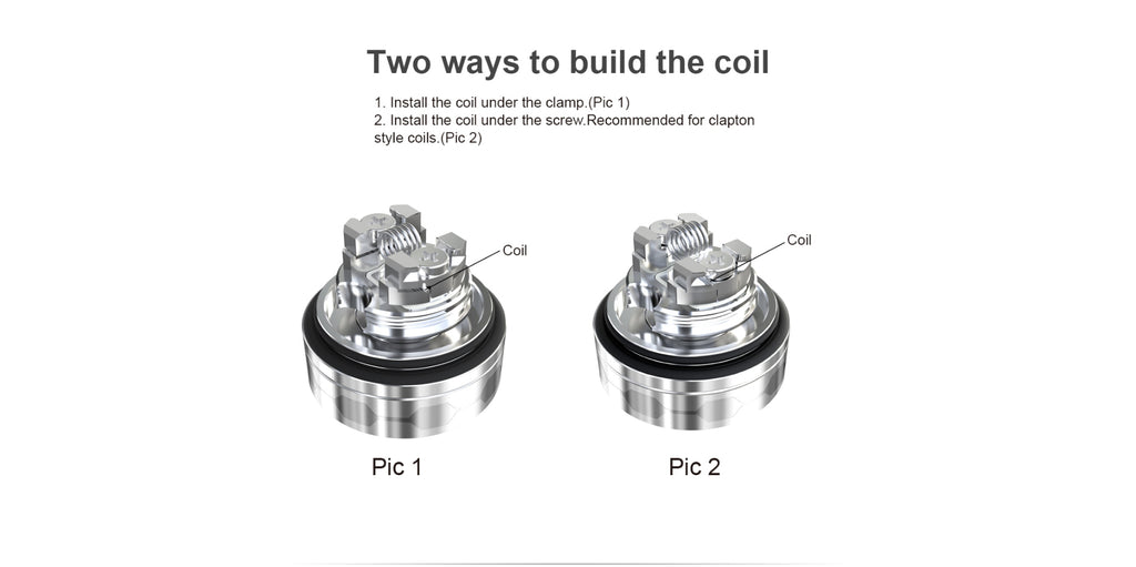 Ehpro True MTL RTA 2 Ways to Build The Coil