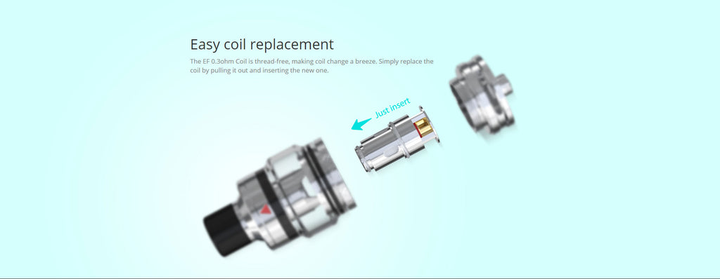 Easy Coil Replacement
