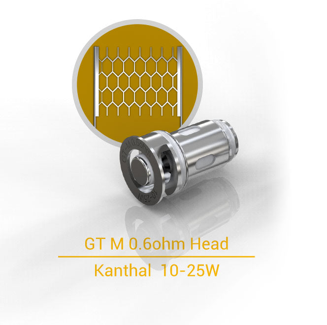Eleaf GT M 0.6ohm Replacement Coil Head 5PCs